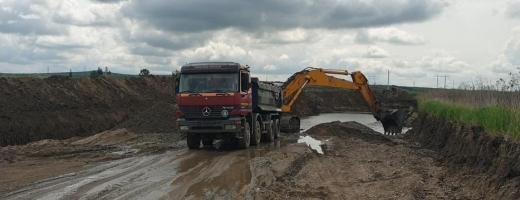 ABA Someș-Tisa a deschis dosare penale pentru două balastiere care exploatau ilegal în Cluj