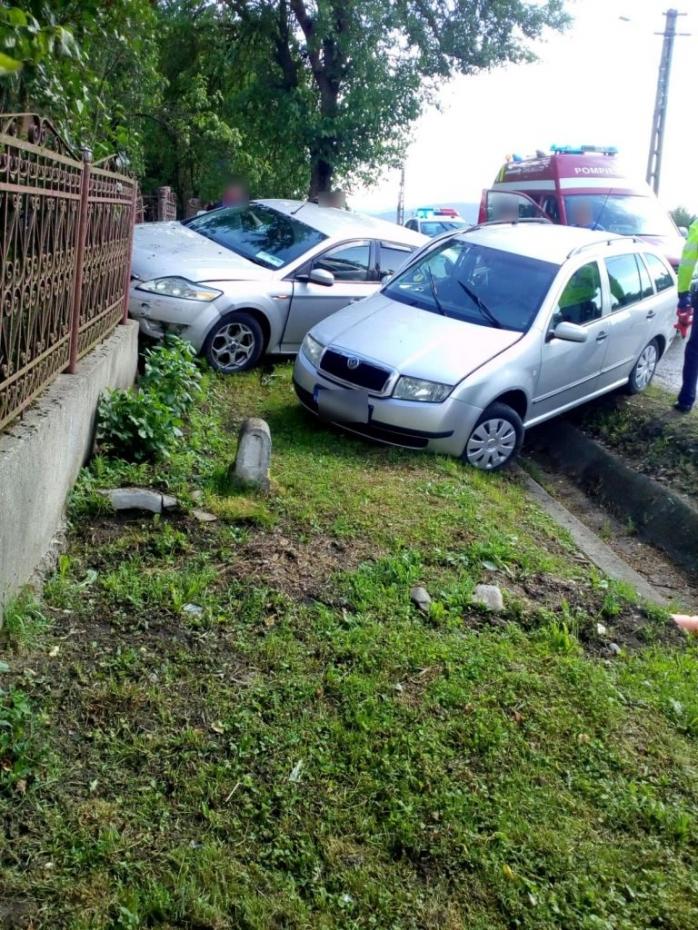 Accident în localitatea clujeană Mica