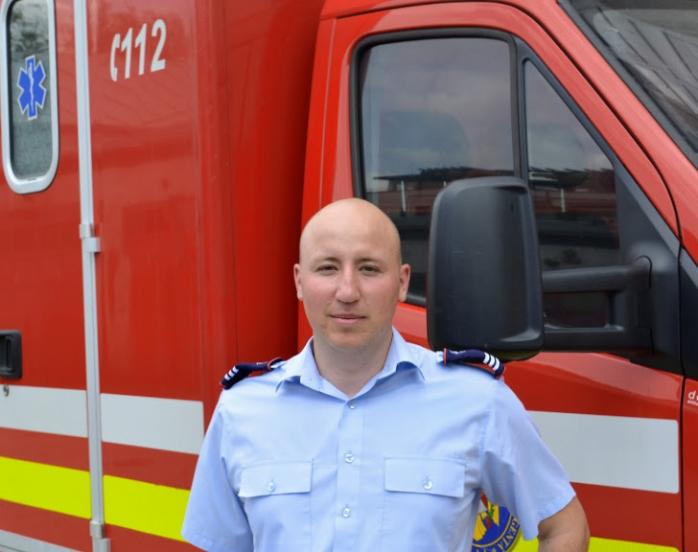 Mihai Iacob, ofițer în dispeceratul Inspectoratului pentru Situații de Urgență Cluj