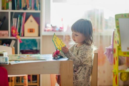 Copil la grădiniță / Foto: pexels.com