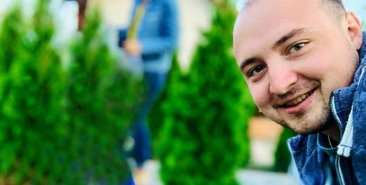 Sergiu Rad, zugravul cu suflet mare