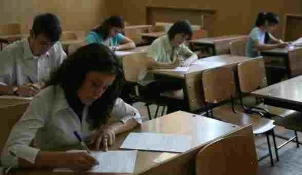 Elevii au susținut examenul la matematică