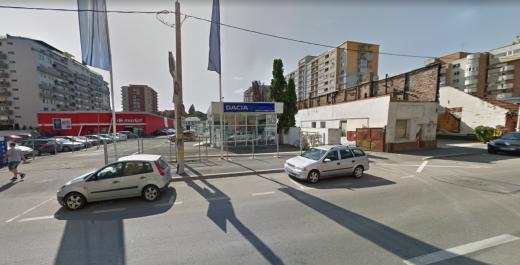 Clădire de birouri și bloc de locuințe în locul Dacia Service de pe Dorobanților. Ce dă investitorul la schimb orașului