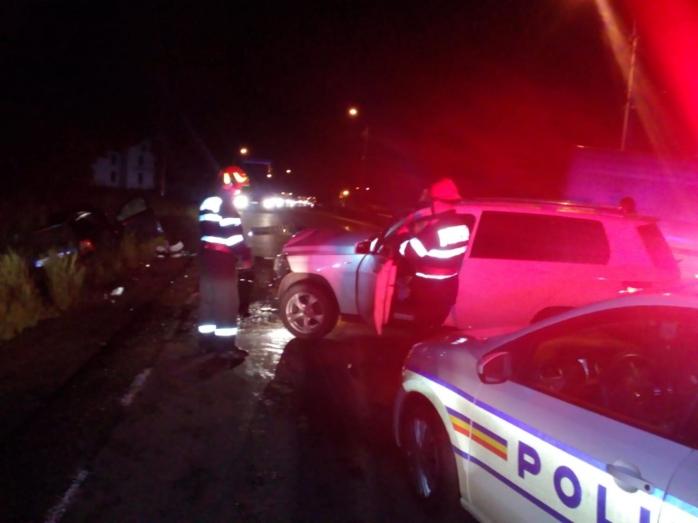 Accident la Cuzdrioara. Șoferii au scăpat fără răni grave
