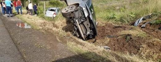 Accident la ieșire din Baciu. O tânără a fost rănită