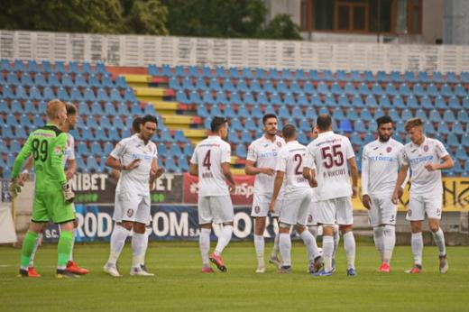 CFR Cluj, victorie lejeră la Botoșani! Petrescu a debutat un puști de 17 ani