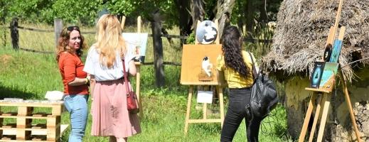 Expoziția de artă din Parcul Etnografic a fost pe placul clujenilor