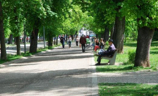 Clujeni în Parcul Central