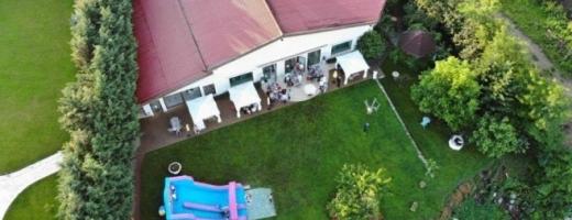 Imagini dronă petrecere Rareș Bogdan