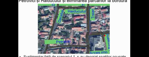 Un ansamblu imobiliar de pe strada Traian SCHIMBĂ RADICAL circulația în zonă. Parcări desființate, bandă de bus și sensuri inversate