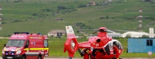 Elicopterele SMURD vor ateriza în Centru! Pacienții în stare gravă câștigă minute vitale, foto: Raymond Füstös/ monitorulcj.ro
