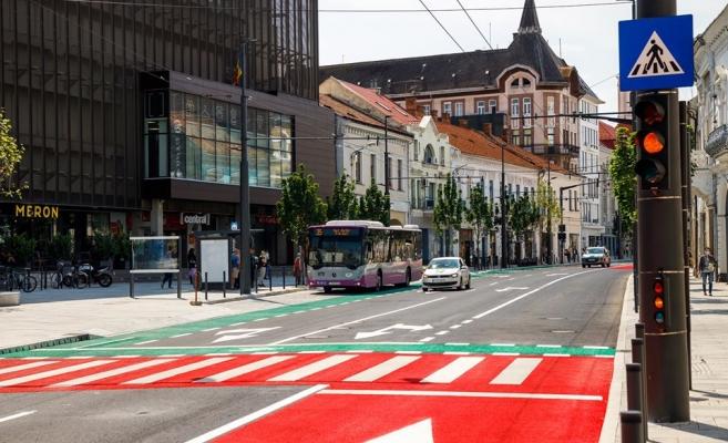 Clujul de 5 STELE. Cum arată centrul orașului după modernizarea străzii Regele Ferdinand. FOTO