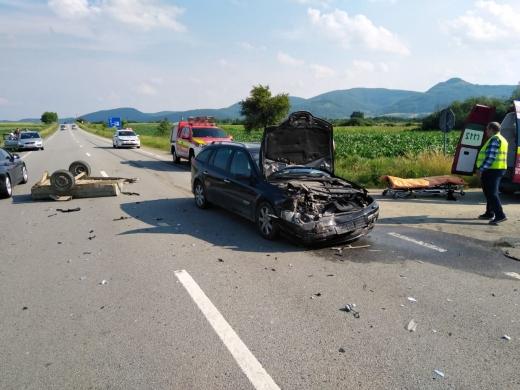 Accident Câțcău 28.06.2020