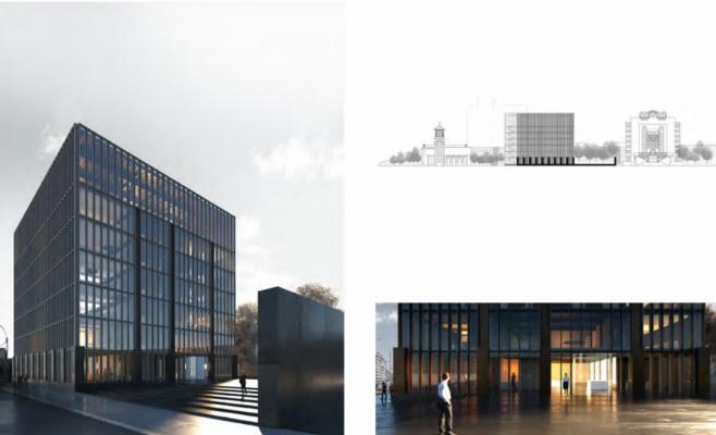 Cum va arăta sediul verde al Consiliului Județean Cluj. Planul urbanistic, în consultare publică