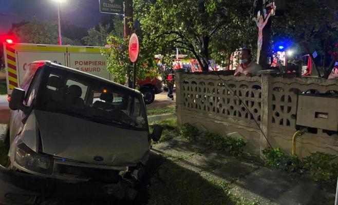 Accident la Jucu de Sus. Trei persoane au ajuns la spital