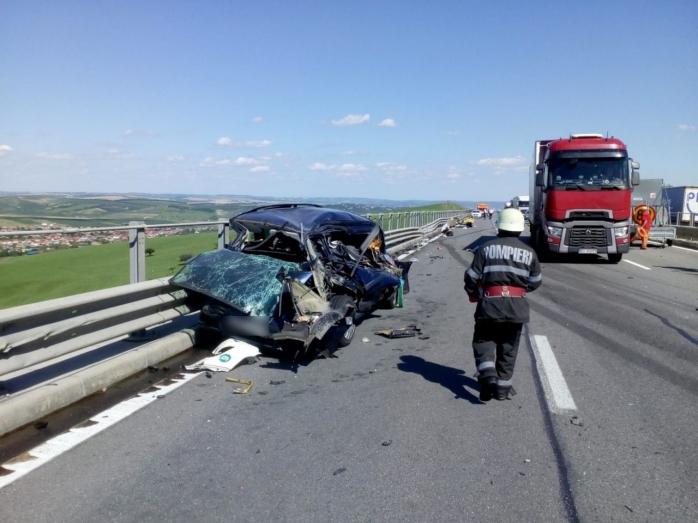 Accident pe Autostrada Transilvania. O persoană a fost rănită grav