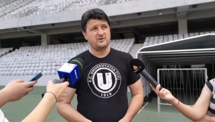 """Falub declară REVOLUȚIE la """"U"""" Cluj! Clubul își întoarce fața spre juniorii clujeni. Universitatea va fi în prima ligă, dar nu """"pompieristic""""."""