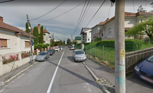 """Fosta stradă Alba Iulia, acum """"Doina Cornea"""""""