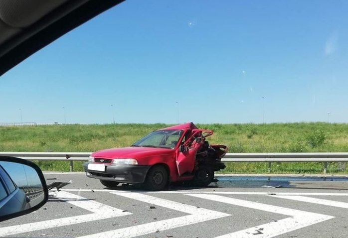 Accident grav pe Autostrada Transilvania, lângă Turda. A fost solicitat elicopterul SMURD