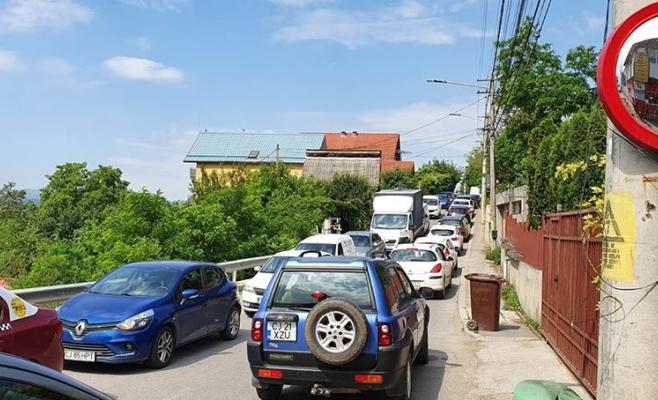 Trafic BLOCAT pe Centura Grigorescu-Florești