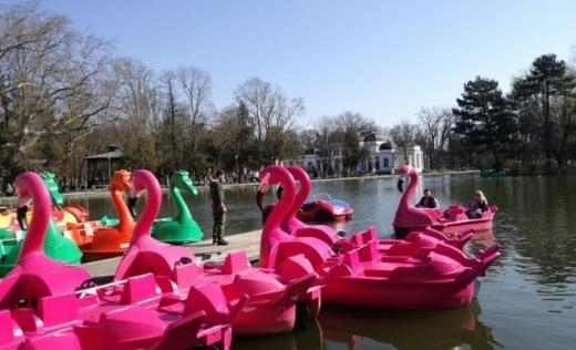 Se deschide sezonul de agrement canotaj pe lacurile Chios și Gheorgheni 1