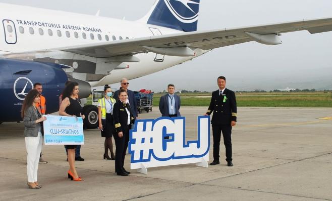 Clujenii pot ajunge cu avionul la Skiathos, Grecia