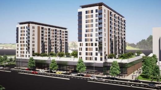 Park&ride lângă autogară? Un viitor ansamblu rezidențial din zonă ar putea pune sute de locuri de parcare la dispoziția clujenilor