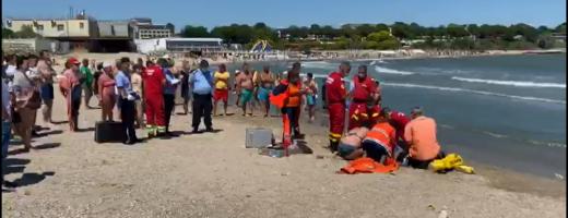 Un clujean de 47 de ani a murit înecat la Mangalia