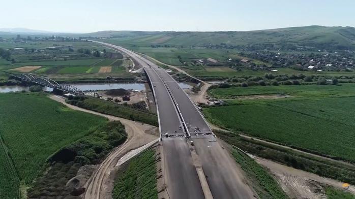 VIDEO Lucrările au fost reluate pe Autostrada Transilvania. Imagini spectaculoase cu șantierul de pe A3, sursă foto/video: Asociația Pro Infrastructură