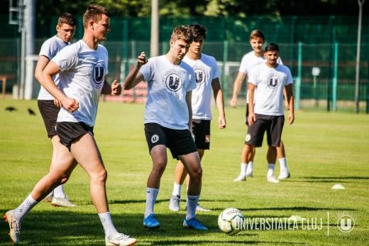 """Mișcări de trupe la """"U"""" Cluj! Șase jucători au părăsit clubul, alți patru au venit"""