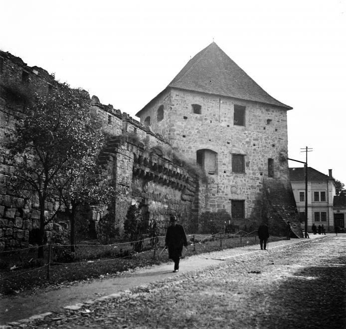 Imagine inedită! Strada Baba Novac și Bastionul Croitorilor în urmă cu aproape un secol