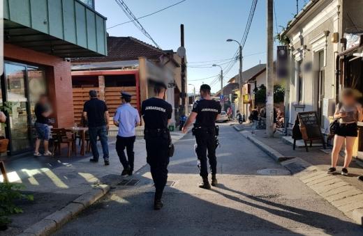 Mobilizare masivă a forțelor de ordine, vineri seară. Câte amenzi au dat polițiștii în localurile din Cluj?