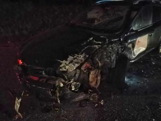 Accident noaptea trecută, într-o localitate din Cluj. Un bărbat a fost rănit