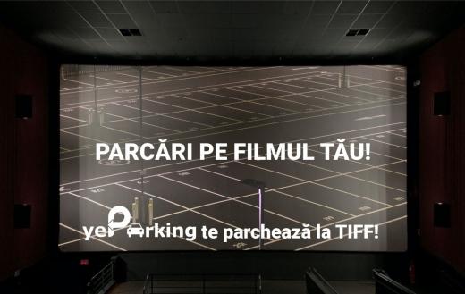 Locuri de parcare gratuite, în zonă ultracentrală, pentru specatatorii TIFF