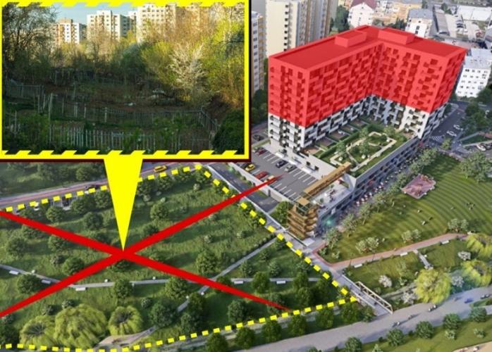 Activiștii se opun unui proiect imobiliar de 13 etaje în Mănăștur. Ce solicită?