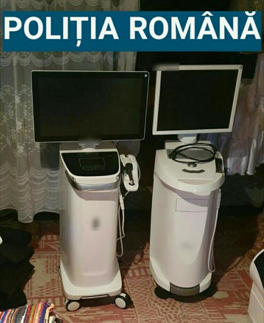Percheziții de amploare după o spargere de zeci de mii de euro la un cabinet medical din Cluj