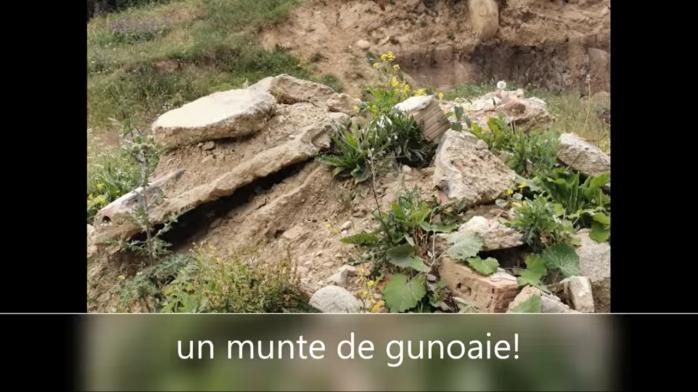 Dealul ORORILOR! Goțiu: Un deal din Chinteni a fost excavat fără licență și umplut cu deșeuri din construcții