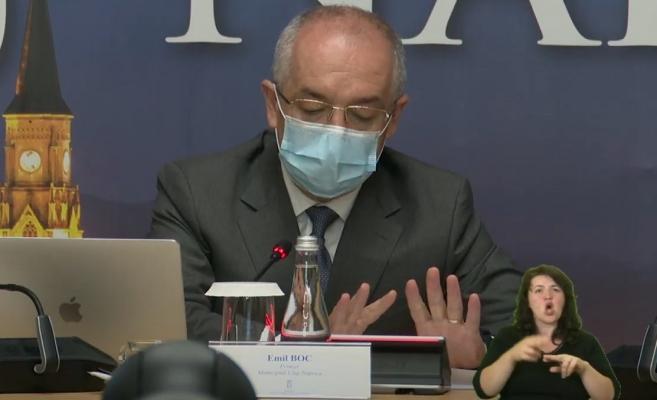 A început bătălia electorală? Săgeți de la distanță între Ungureanu și Boc pe tema infectărilor cu COVID-19 din Primăria Cluj-Napoca
