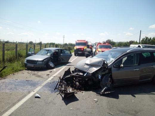 Accident în Bonțida! O tânără a fost rănită