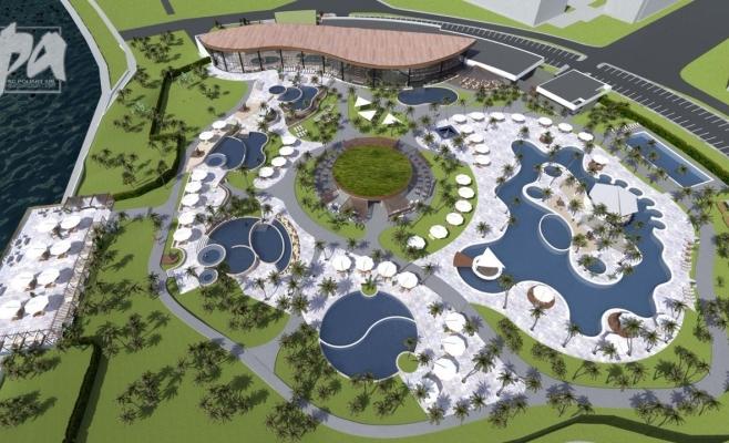 FOTO. Oradea amenajează un nou parc termal. Aquapark-ul de la Cluj mai așteaptă
