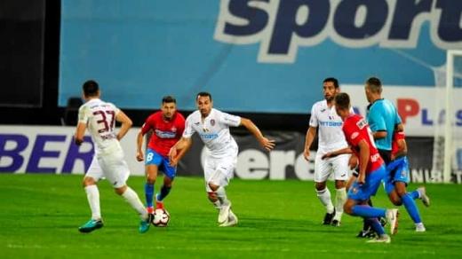 CFR Cluj, victorie cu 2-0 pe terenul lui FCSB