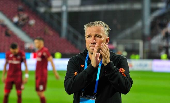 Dan Petrescu, șanse mari să fie pe bancă la meciul cu Universitatea Craiova!