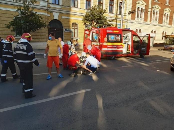 Bunic de 82 de ani, lovit de mașină în centrul Clujului