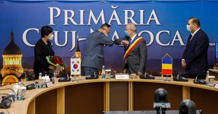 După acordul cu Dortmund, Cluj-Napoca consolidează parteneriatul de dezvoltare cu Coreea de Sud