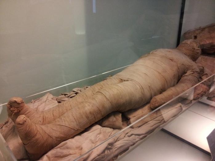 O mumie din Egipt antic în PREMIERĂ la Cluj!