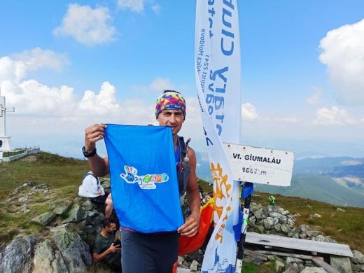 Vlad Pop a ajuns la finalul cursei Bucovina Ultra Rocks!