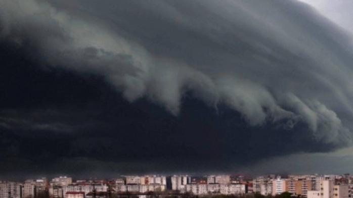 Cod Galben de ploi, vijelii și grindină în județul Cluj