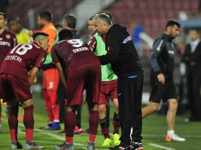 CFR Cluj va juca în deplasare la Clinceni în primul meci din noul sezon