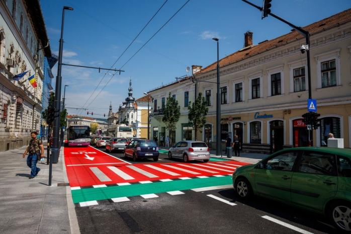 Centrul istoric al Clujului va fi finalizat până în septembrie! Va fi transformat într-o piațetă