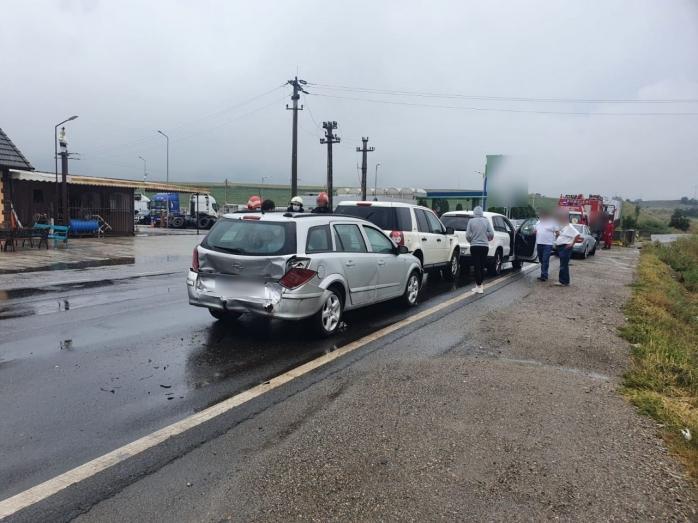 FOTO Accident rutier pe A3 dinspre Turda